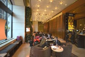 The living room at the w union square - The living room at the w union square ...